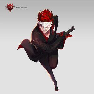 Amity Arena character art of Adam Taurus