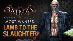 Batman Arkham Knight - Lamb to the Slaughter (Deacon Blackfire)
