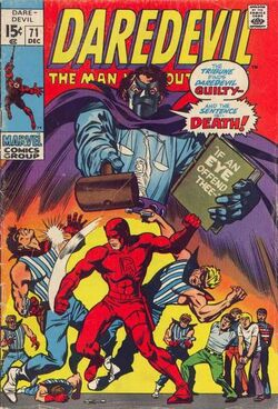 Daredevil -71 tribune