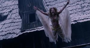 Marishka leaps