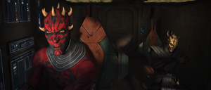 Maul escape pod