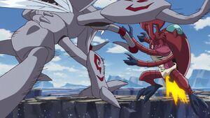 Okuwamon vs MegaKabuterimon