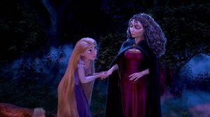 Rapunzel and gothel