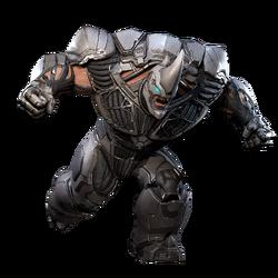 Rhino from MSM render