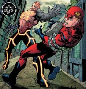 Carl Creel (Earth-616) vs. Henry Pym (Earth-616) from Avengers Academy Vol 1 16