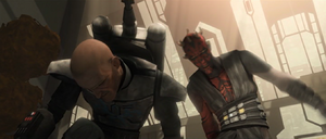 Darth Maul headbutt