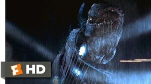 Godzilla (1998) - Zilla Goes Down Scene (10 10) Movieclips