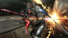 Mistral confronting Raiden