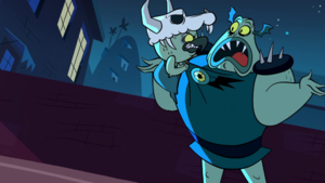 S1e1 ludo asks buff frog why she has protection