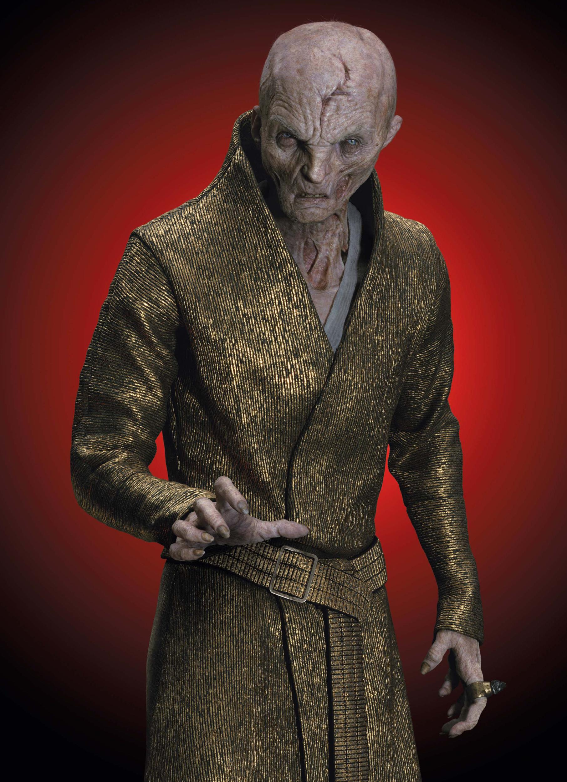 Supreme Leader Snoke Villains Wiki Fandom Powered By Wikia