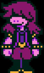 Susie overworld darkworld