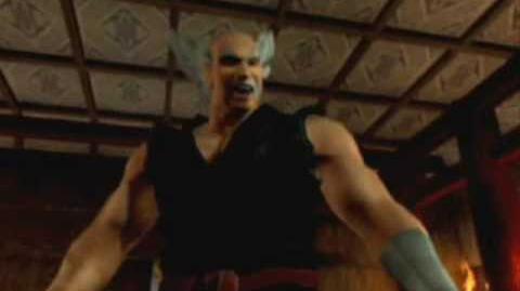 Tekken 4 Heihachi's ending.