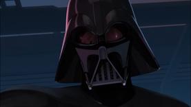 Vader examines
