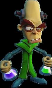 Crash Bandicoot N. Sane Trilogy Doctor Nitrus Brio