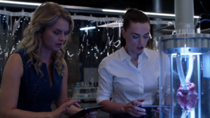 Eve and Lena expierment on some tumourous hearts
