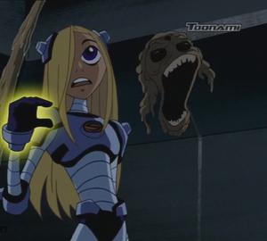 Ugh, terra taunted Raven 2003