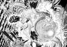 Saitama beats Orochi