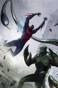 Spider-Man 2099 Vol 2 4 Textless