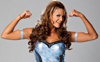 Eve Torres Flexing