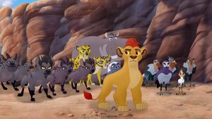 Janja and Lion Guard and Outlanders