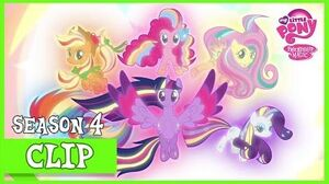 "MLP FiM - The Mane 6 Defeat Tirek ""Twilight's Kingdom"" HD"