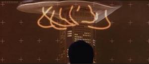 Millennian UFO polaroid lens invisible