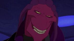 Thrax's smile