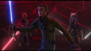 Darth Maul, Ahsoka Tano, and Kanan VS All Of the Inquisitors - Star Wars Rebels