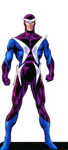 Frederick Myers (Earth-616) from Official Handbook of the Marvel Universe A-Z Update Vol 1 5