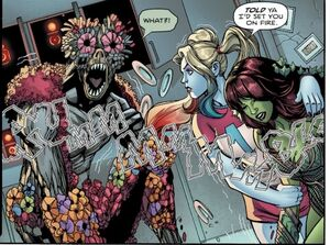 Jason Woodrue Harley Quinn and Poison Ivy 04
