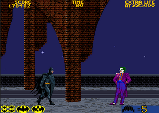 Joker (Final Boss of Batman arcade)