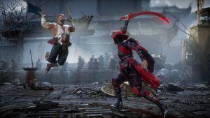 Mortal Kombat 11 Baraka vs Skarlet