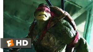Teenage Mutant Ninja Turtles (2014) - Raphael vs