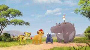 The Lion Guard The Golden Zebra - The Guard Encounter Makucha Again Scene HD