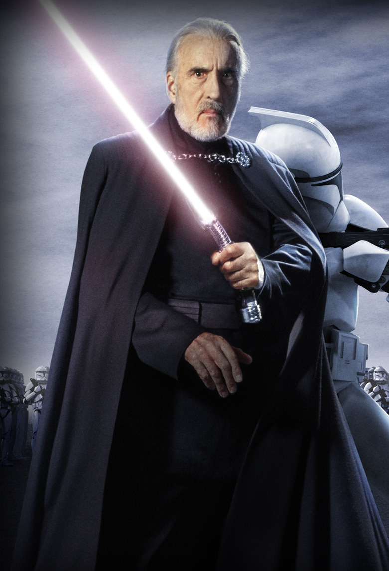 Count Dooku, the character of Star Wars