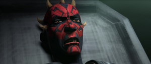 Darth Maul exhausted