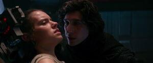 Kylo interrogates Rey