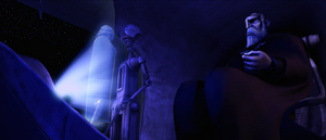 Sidious conferring