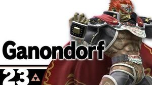 23 Ganondorf – Super Smash Bros