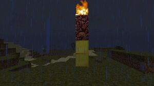 A way of summoning Herobrine