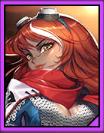 Carmine card icon