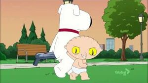 Family Guy Stewie vs Evil Stewie Fight