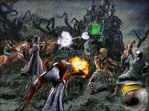 Final assault againts hexis castle
