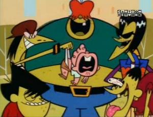 Gangreen Gang laugh