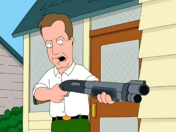 Image result for james woods family guy