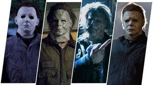 Michael Myers Evolution in Halloween Movies (2018)