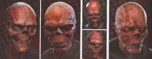 Avengers Infinity War Red Skull concept art 16