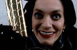 Creepy Woman in Black