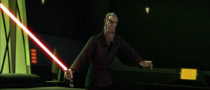 Dooku on-guard