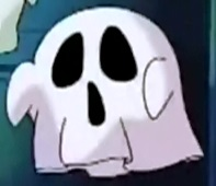Kirby as Fake Ghost 1